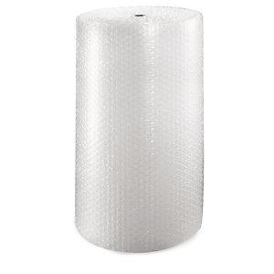 RAJA Film plástico de burbujas, rollo de 100 cm x 150 m (ancho x largo)