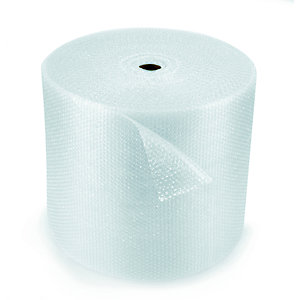 RAJA Film de protection à bulles d'air 10 mm - Rouleau l. 50 cm x L. 100 m - Transparent (Le)