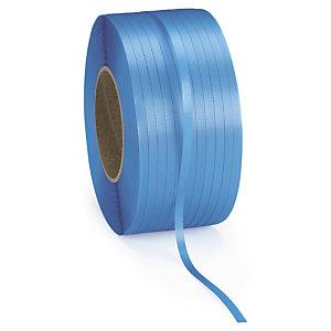 RAJA Fleje polipropileno 13 mm x 1200 m (ancho x largo) azul