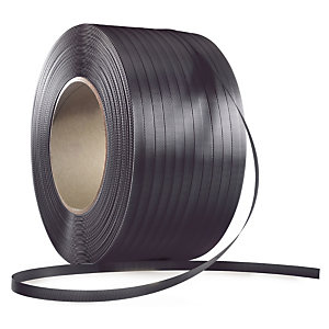 RAJA Fleje polipropileno 13 mm x 1200 m (ancho x largo) negro