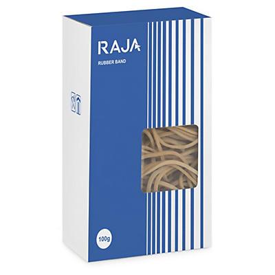RAJA Mini-colis élastiques caoutchouc##RAJA Gummibänder braun im Mini-Pack