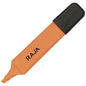 RAJA Hype!™ Marcador de cuerpo plano, punta biselada de 1 a 5 mm, naranja
