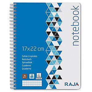 RAJA Integral Cuaderno, A5+, cuadriculado, 50 hojas, cubierta de cartulina