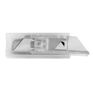 RAJA Lama di ricambio per cutter, Acciaio inossidabile, 18 mm (confezione 10 pezzi)