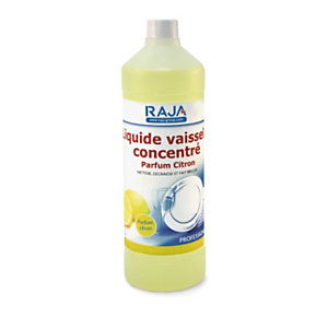 RAJA Liquide vaisselle concentré citron 1l