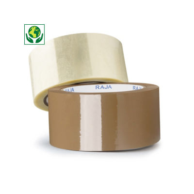 RAJA low noise polypropylene packaging tape