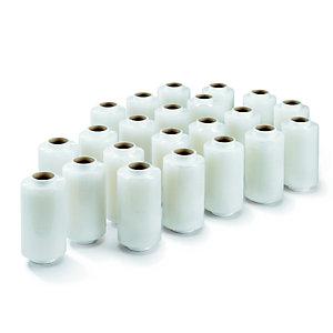 RAJA Mini bobines de film emballage étirable 23 microns 12,5 cm x 150 m - Transparent