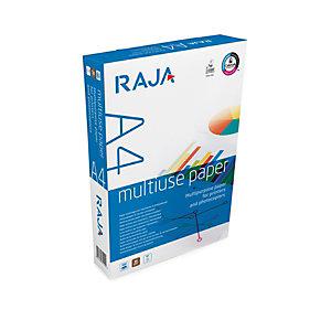 RAJA Multiuse Carta multiuso A4 per Fotocopiatrici, Stampanti Laser e Inkjet, 80 g/m², Bianco