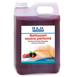RAJA Nettoyant multi-usages parfum fruits rouges - Bidon 5L