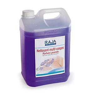 RAJA Nettoyant multi-usages parfum lavande - Bidon 5L