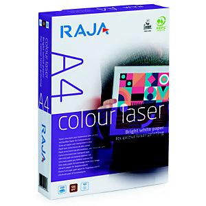 RAJA Papel multifunción para impresora láser, A4, 120 g/m², Blanco