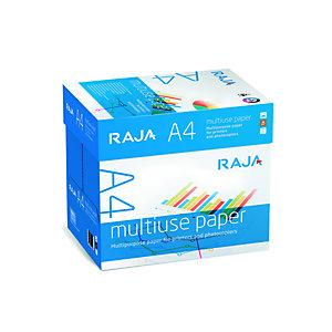 RAJA Papier A4 blanc 80g Multi-usage - Boîte de 2500 feuilles