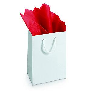 RAJA Papier de soie Rouge l.75 x L.50 cm - Rame de 480 feuilles