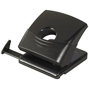 RAJA Perforateur de bureau 2 trous - 40 feuilles - Noir