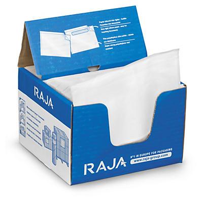 RAJA plain document enclosed envelope labels