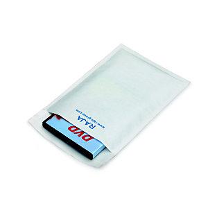 RAJA Pochette matelassée à bulles d'air Eco - 18 x 26 cm - Papier extra-blanc 80 g/m²
