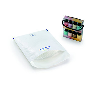 RAJA Pochette matelassée à bulles d'air Eco - 22 x 26 cm - Papier extra-blanc 80 g/m²