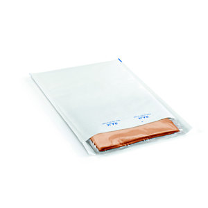 RAJA Pochette matelassée à bulles d'air Eco - 27 x 36 cm - Papier extra-blanc 80 g/m²