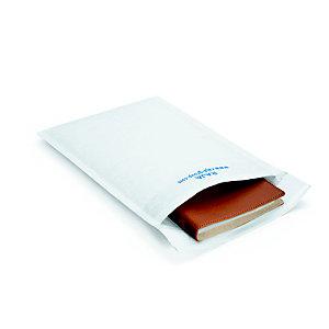 RAJA Pochette matelassée en mousse Eco - 18 x 26 cm - Papier extra-blanc 80 g/m²