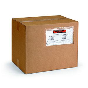 RAJA Pochette porte-documents Eco adhésive - Documents ci-inclus- l.int.225 x H.115 cm - Pour format A4 plié en 3