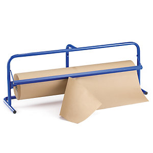 RAJA Portabobinas horizontal 115 x 34 x 42,5 cm (largo x ancho x alto), ancho de corte 110 cm