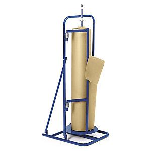 RAJA Portabobinas vertical 65 x 56 x 510 cm (largo x ancho x alto), ancho de corte desde 100 a 120 cm