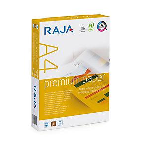 RAJA Premium Carta multiuso A4 per Fotocopiatrici, Stampanti Laser e Inkjet, 80 g/m², Bianco