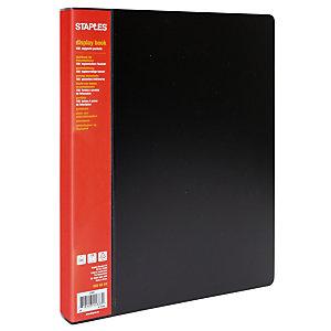 RAJA Protège-documents A4 Budget 100 pochettes - Noir