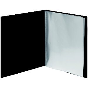 RAJA Protège-documents A4 Budget 40 pochettes - Noir