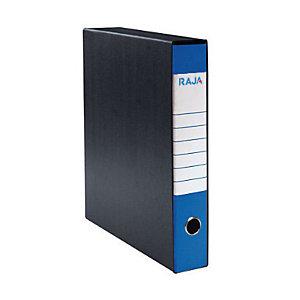 RAJA Registratore archivio Classic, Formato Protocollo, Dorso 5 cm, Cartone, Blu