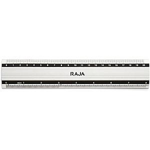 RAJA Regla, aluminio, 20 cm