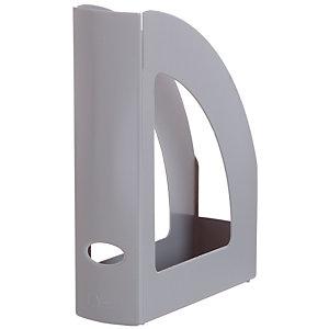 RAJA Revistero, poliestireno, 80 x 320 x 250 mm, gris