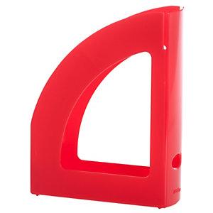 RAJA Revistero, poliestireno, 80 x 320 x 250 mm, rojo