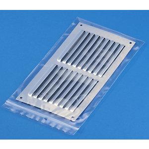 RAJA Sacchetto con chiusura a pressione, 50 micron, 27 x 38 cm, Trasparente (confezione 1.000 pezzi)
