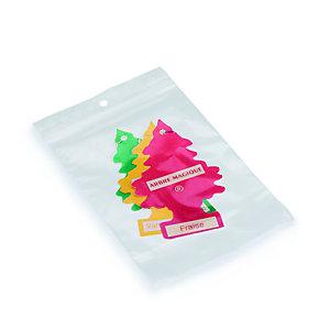 RAJA Sachet plastique à fermeture Zip - 10 x 15 cm - Epaisseur 50 microns - Transparent