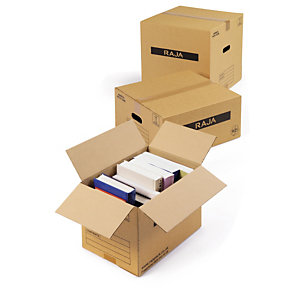 Single-walled moving out boxes are easy to carry