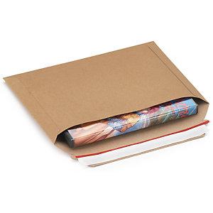 RAJA Sobre de cartón con cierre adhesivo, 235 x 180 mm, paquete 100 unid