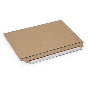 RAJA Sobre de cartón con cierre adhesivo, 334 x 234 mm, paquete 100 unid