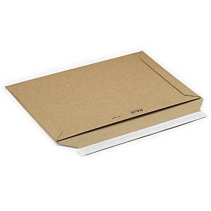 RAJA Sobre de cartón rígido con cierre adhesivo, 360 x 250 mm, paquete 100 unid