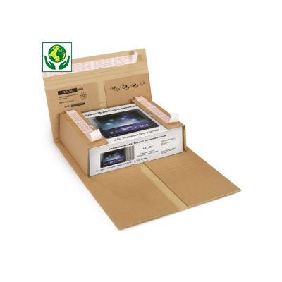 RAJABOOK Etui avec fermeture adhésive sécurisée##Postverpakking met beveiligde zelfklevende sluiting
