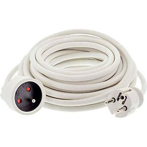 Rallonge électrique 10 m 10/16A - 220 V 3 x 1.5 mm²