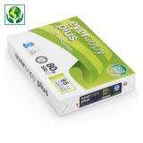 Ramette papier 100% recyclé A4 80g Evercopy + CLAIREFONTAINE