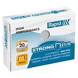 Rapid Agrafes 21/4 Strong - Boîte de 1000