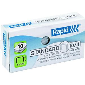 Rapid Agrafes Standard -n°10 - Boîte de 1000