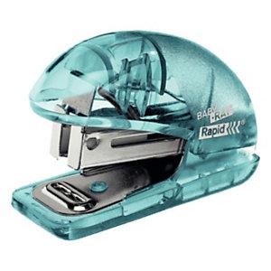 Rapid BabyRay F4 Mini cucitrice Colour'Ice, Blu traslucido