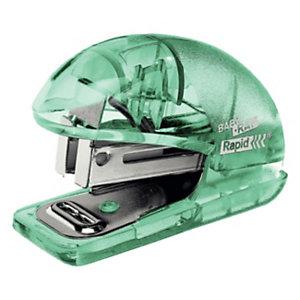 Rapid BabyRay F4 Mini cucitrice Colour'Ice, Verde traslucido