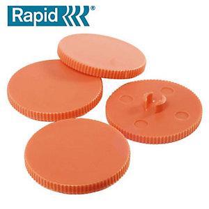 Rapid Dischetti di perforazione di ricambio per perforatore, Plastica (confezione 10 pezzi)