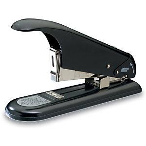 Rapid HD9 Grapadora manual, alta capacidad para gruesos, 110 hojas, negra
