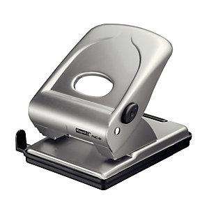 RAPID Perforatore FMC40 - massimo 40 fogli - 2 fori - passo 8 cm - argento - Rapid
