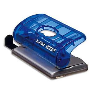 Rapid Perforatrice 2 trous EC20 XRAY bleu marine - Capacité de 20 feuilles